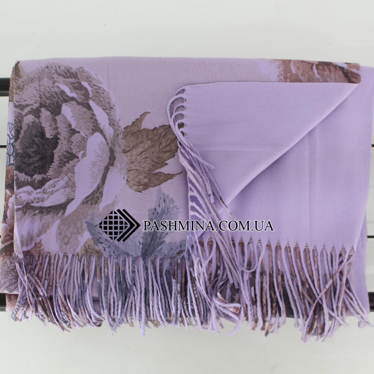 Кашемировый двухстонный шарф палантин Cashmere 106006