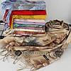 Кашемировый двухстонный шарф палантин Cashmere 106011, фото 2