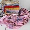 Кашемировый двухстонный шарф палантин Cashmere 106012, фото 2