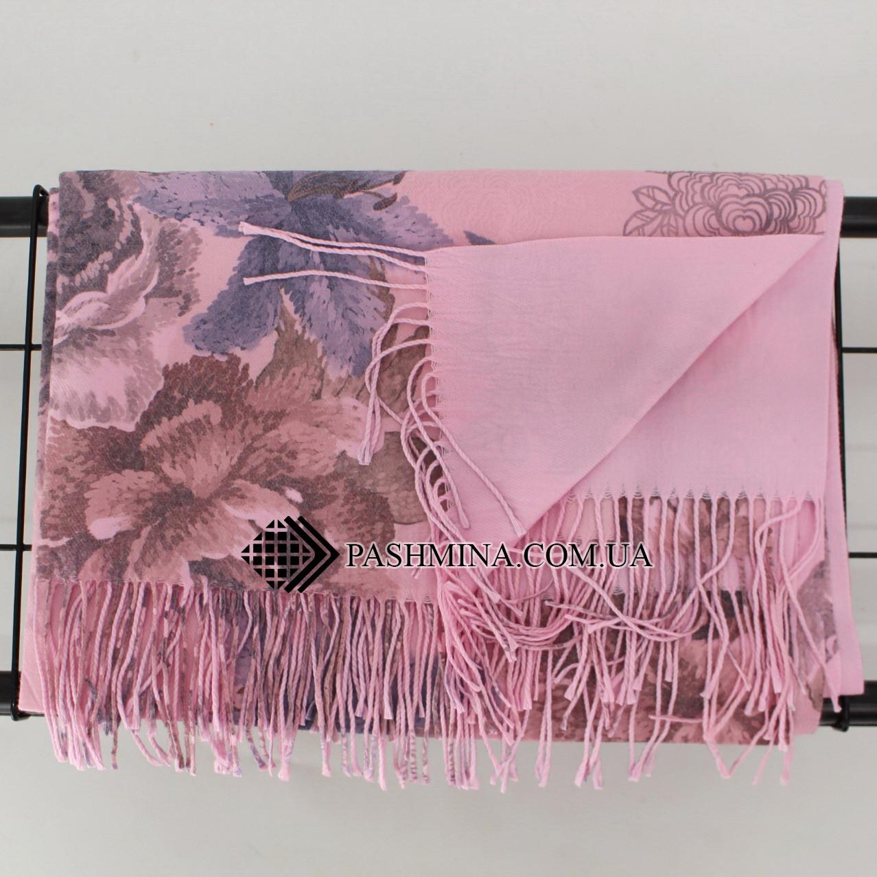 Кашемировый двухстонный шарф палантин Cashmere 106012