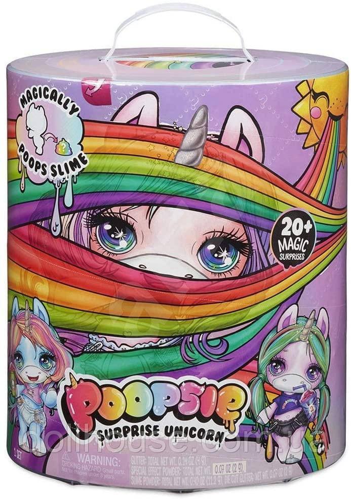 Игровой набор Poopsie Slime Surprise MGA Единорог Пупси с сюрпризами 2 волна Серебряный Рог (555988) Подробнее
