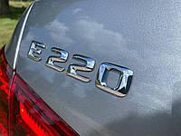 Эмблема надпись багажника Mercedes E220 тип1
