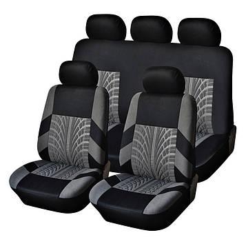 Чохли на автомобільні сидіння (повний набір, 2 передніх і 1 задній) авточохли (3 шт/уп.) (SV)