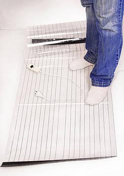 Мобільний тепла підлога з підігрівом плівковий - інфрачервоний електропідігрів , 180 х 60 див. Тріо 01401 (SV)