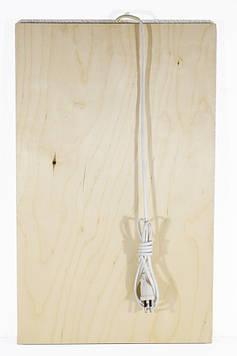 Панель обогреватель, Трио, инфракрасный теплый пол, 50W, QSB панель, с подогревом Трио 01601 (SV)