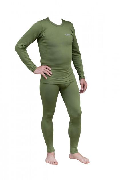 Комплект мужского термобелья Tramp TRUM-019-Olive-S-M Warm Soft Green