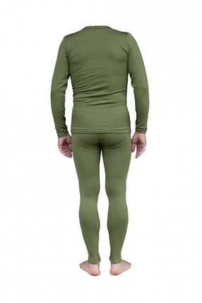Комплект мужского термобелья Tramp TRUM-019-Olive-S-M Warm Soft Green, фото 2