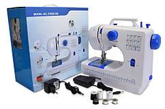 Універсальна портативна швейна машинка, FHSM 506, маленька електрична, Синя, з доставкою