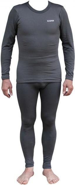 Комплект мужского термобелья Tramp TRUM-019-Grey-S-M Warm Soft Gray
