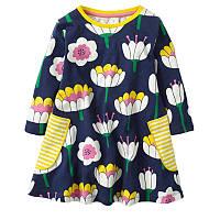 Платье для девочки Водяная лилия Jumping Meters (18-24 мес)