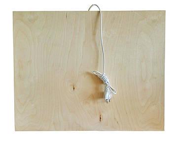 Панель обігрівач, підставка з підігрівом, 160W, інфрачервоний тепла підлога Тріо 01604 (SV)