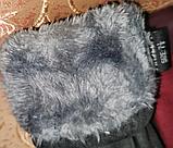 Замш с Арктический бархат сенсорны женские перчатки для работы на телефоне плоншете ANJELA только оптом, фото 8