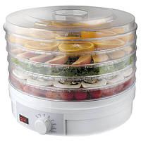 Сушка для овочів та фруктів з терморегулятором SBL-1215, сушарка для грибів, з доставкою по Україні