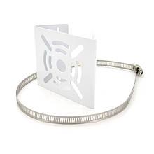 Кронштейн для камери PiPo PP- Spiderweb, кріплення кут 45 °, білий, метал + хомут металл