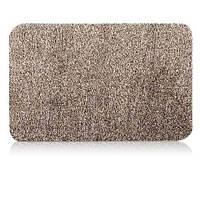 Придверні супер всмоктуючий килимок Clean Step Mat придверні Super Clean Mat Бежевий по Україні