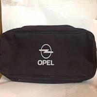 Сумка техпомощи автомобильная OPEL (черная) 2 отдела большая (53х13х19)
