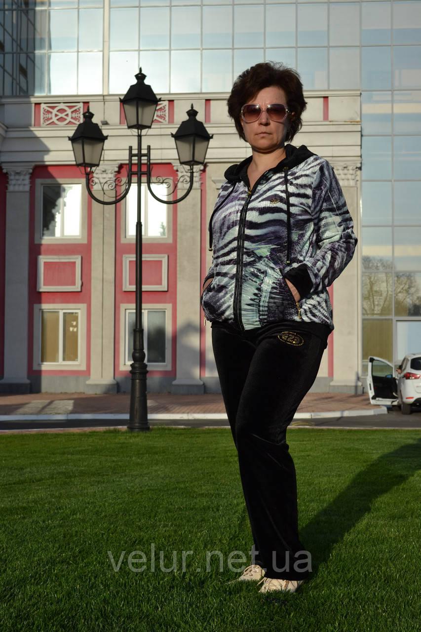 Велюровый женский спортивный турецкий костюм EZE купить разм 50,52,54.
