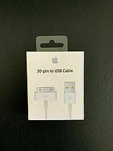 Оригинальный USB кабель для iPhone 3G 3GS Apple 30 pin MA591ZM/C