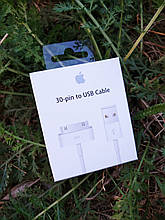 Оригинальный USB кабель для iPod Apple 30 pin MA591ZM/C