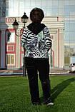 Жіночий велюровий турецький спортивний костюм EZE купити розм 50,52,54., фото 2