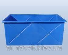 Пластиковый ящик контейнер 1000 л., ящик полиэтиленовый 1000 литров