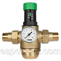 "Редуктор тиску HERZ 3/4"" Температура 0-70 °C"