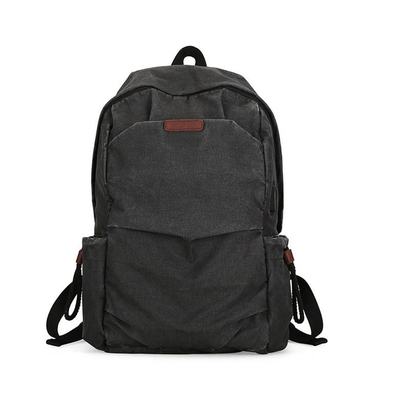 Городской рюкзак Muzee 1898 Retro Black (USB)