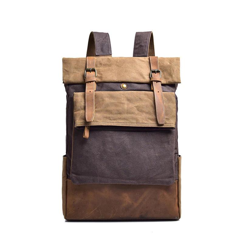 Городской рюкзак Manjian RetroStreet 1548 Grey