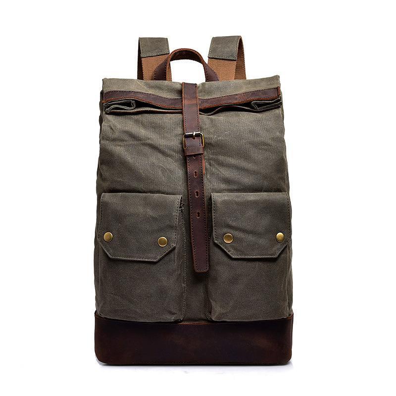 Городской рюкзак Manjian Urban Bag 1546 Green