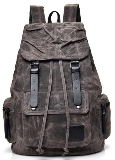 Городской рюкзак Manjian WD012 Coffee