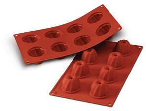 """Форма для выпечки силиконовая """"кекс"""" d 55 мм, h 36 мм"""