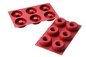 Форма для выпечки силиконовая d 75-25 мм, h 28 мм