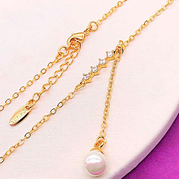 Цепочка с кулоном Xuping Jewelry 44/47 см медицинское золото позолота 18К А/В 3-0129