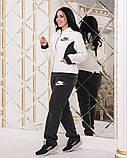 Жіночий трикотажний спортивний костюм на флісі-3 кольори, Розміри:48,50,52,54, фото 5