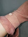 Сенсорны перчатки шерстяная ткань  для работы на телефоне плоншете ANJELA/Сенсорны женские перчатки оптом, фото 3