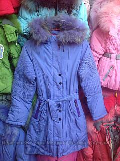 Пальто девочка подросток Donila  9-19