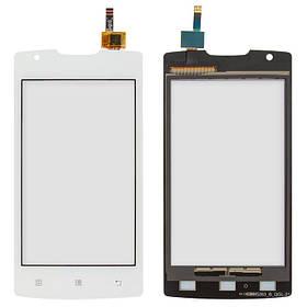 Сенсор (тачскрин) для Lenovo A1000 IdeaPhone белый