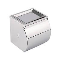Держатель туалетной бумаги Potato P300  с крышкой