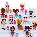 ЛОЛ сюрприз Конфетті Eye Spy L. O. L. Surprise! Confetti Present Surprise Re-released Doll with 15 Surprises, фото 6