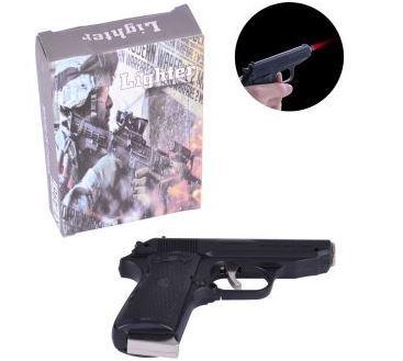 Зажигалка газовая с ножом Walther PPK (Турбо пламя) №XT-4967 Black