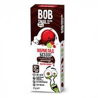 Натуральные конфеты Bob Snail Яблоко-Вишня в бельгийском черном шоколаде 27 г
