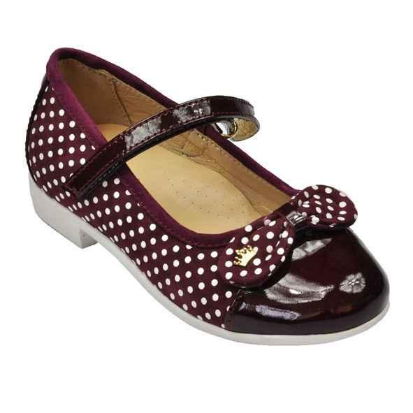 Туфли бордовые для девочки ЛИНА Foletti
