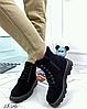 Ботинки женские демисезон Horoso на шнурках бежевые, фото 3