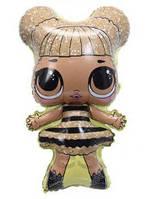 Фольгированный шар Кукла Лол Queen Bee 79х47см