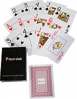 Карты игральные пластиковые Poker Club STW, 54 карты Jiangsu Benniu Poker Entertainment Products Co., Ltd