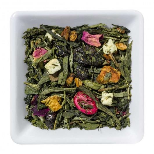 Чай Зеленый Солнечный виноград крупно листовой Tea Star 250 гр Германия