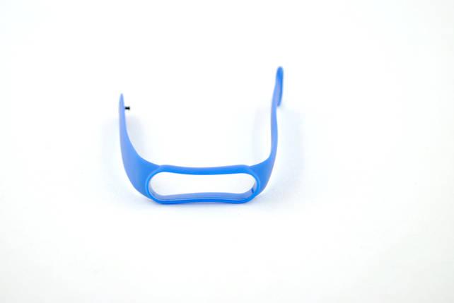 Ремешок для фитнес браслета Xiaomi mi band 5/6 hc Blue, фото 2