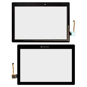 Сенсор (тачскрін) для Lenovo A10-70F Tab 2/A10-70L чорний Оригінал