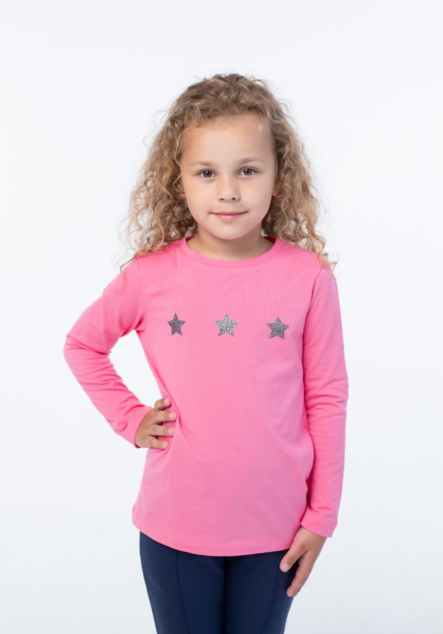 Кофта для девочек - G-20920W_ярк.розовый (рр.98-122)