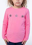 Кофта для девочек - G-20920W_ярк.розовый (рр.98-122), фото 3